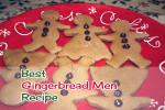 Best Gingerbread Men Recipe Ever