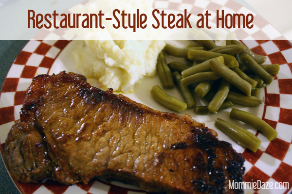 Restaurant Style Steak Without Leaving Home This