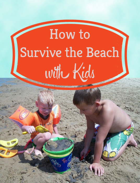 Surviving the Beach with Kids