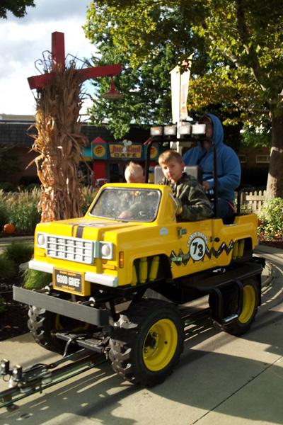 Peanuts Road Rally Cedar Point Kids Rides