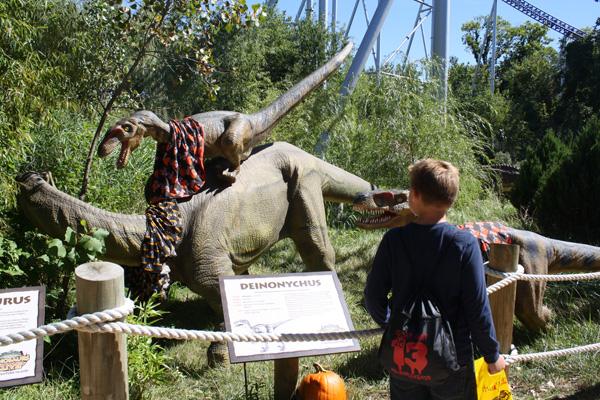 Cedar Point Dinosaurs Alive HalloWeekends