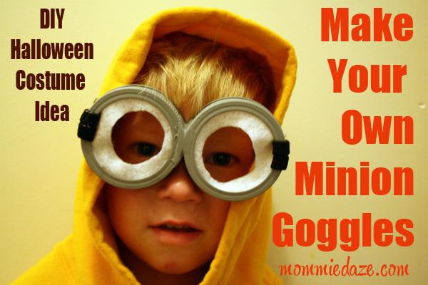 Despicable Me Minions Goggles  sc 1 st  This Michigan Life & Halloween Costume Idea: DIY Despicable Me Minion Goggles - This ...