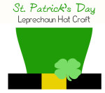 St. Patrick's Day Crafts – Leprechaun Hat Printable