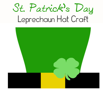 st patrick s day crafts leprechaun hat printable this michigan life