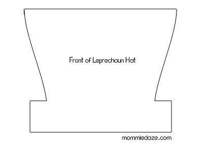 St patrick 39 s day crafts leprechaun hat printable this for Leprechaun hat template printable