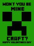 Free Minecraft Printable Valentine's