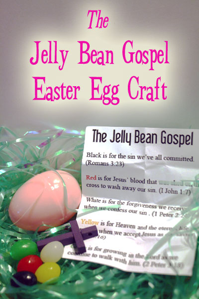 Easter Craft Jelly Bean Gospel
