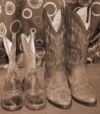 Kids and Adutls Cowboy Boots