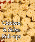 Chicken Salsa Roll-ups Simple Delicious Super Bowl Snack