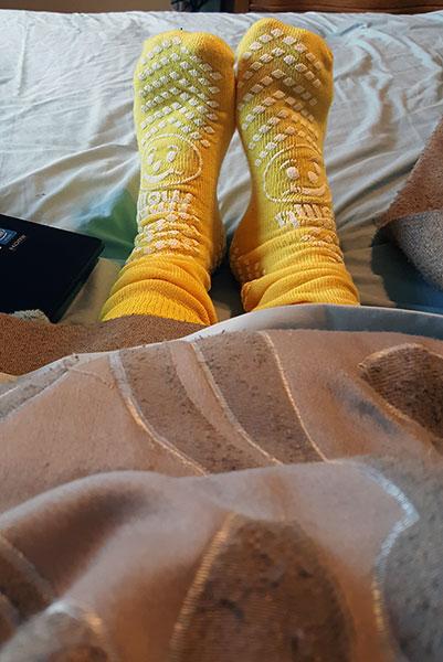 hospital socks