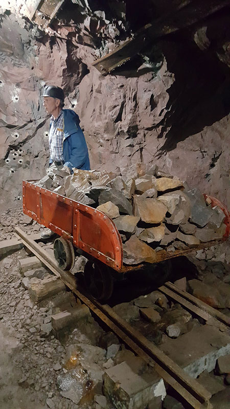Quincy Copper Mine Mine Cart