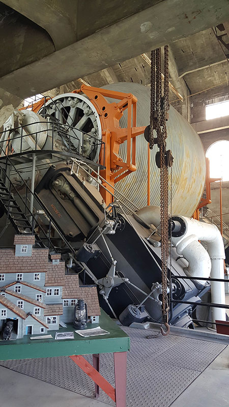 Quincy Copper Mine Steam Hoist