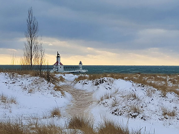 St. Joe Lighthouse Winter